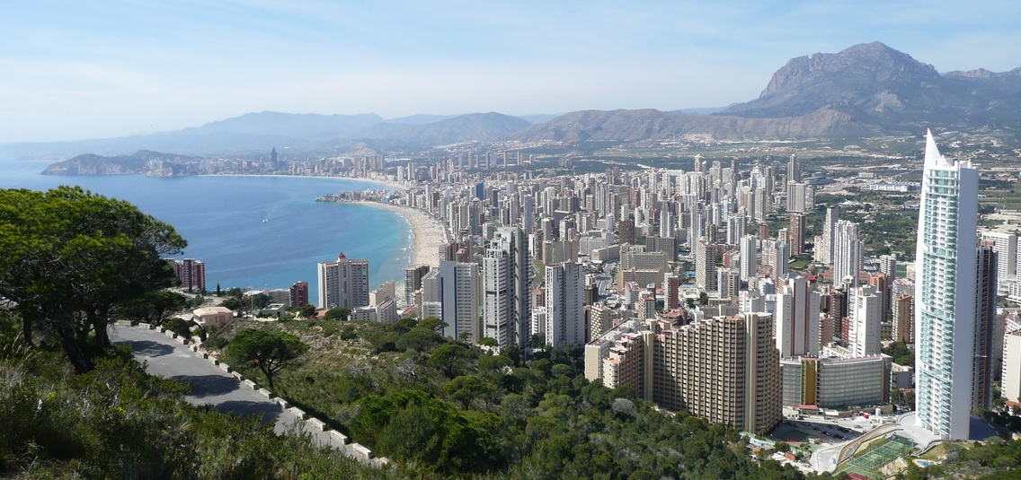 Benidorm is one of the best beach towns in Spain ... trust us!