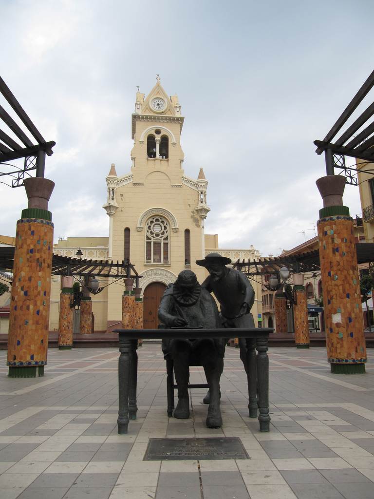 Town squares like this count heavily towards the top reasons to visit Melilla